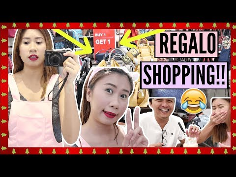VLOGMAS Day 13: HUGE REGALO SHOPPING!! (Christmas Gifts Ideas)