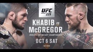 Khabib Nurmagomedov Vs Conor Mcgregor  - UFC-229 [REVIEW]