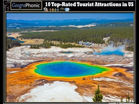 10 best tourist attractions in the United States of America Quiz