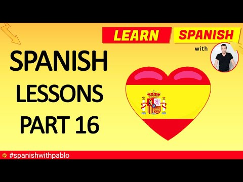 How to say things in Spanish part 16 (remastered) - Spanish language tutorials compilation