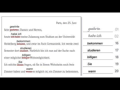 Goethe Zertifikat B2 Schreiben - Aufgabe 2 | Goethe Certificate B2