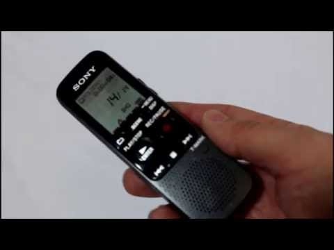 Review: SONY ICD PX333 Digital Voice Recorder