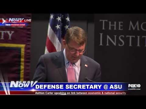 FNN: US Defense Secretary Ashton Carter Speaks at ASU