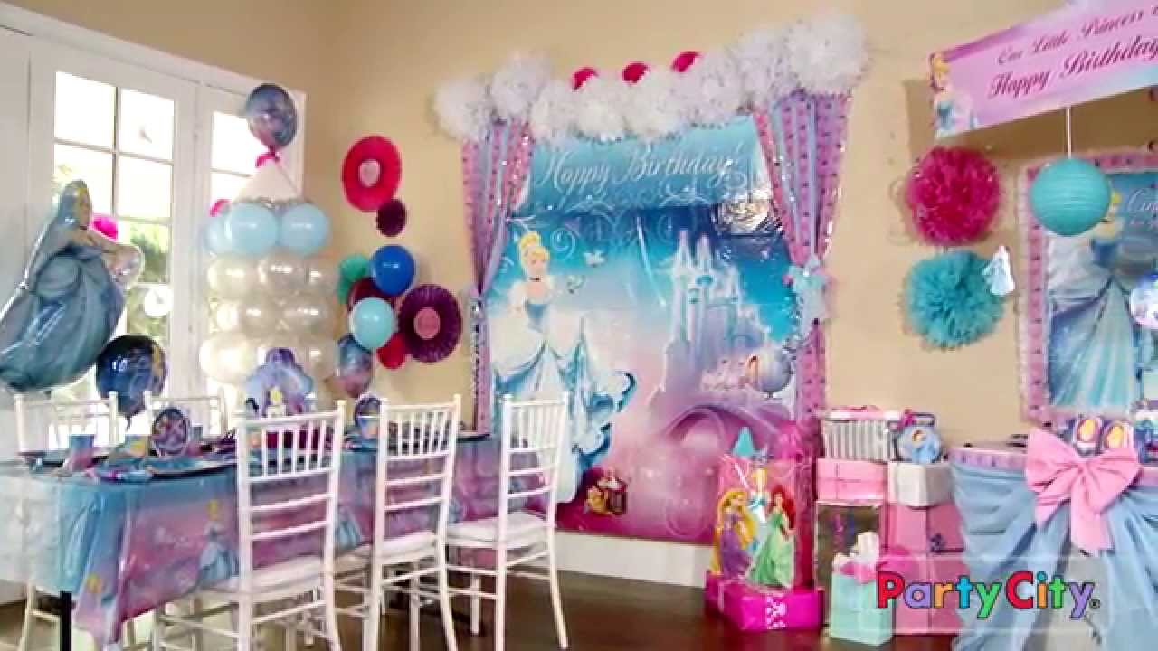 Its a Magical Cinderella Party YouTube