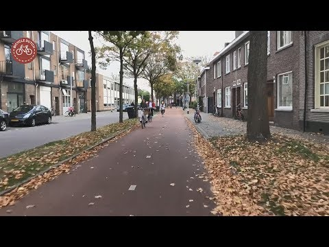Ride on the Tilburg cycle demonstration route