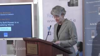 Irina Bokova Keynote - UNESCO