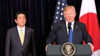 Trump, Abe respond to N  Korea missile test