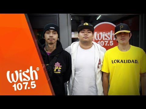 """K-Leb (feat. Ron Henley, Drich) performs """"Pisi"""" LIVE on Wish 107.5 Bus"""