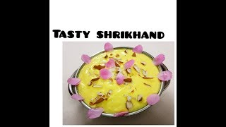 DELICIOUS SHRIKHAND KI RECIPE best for summers MUST WATCH