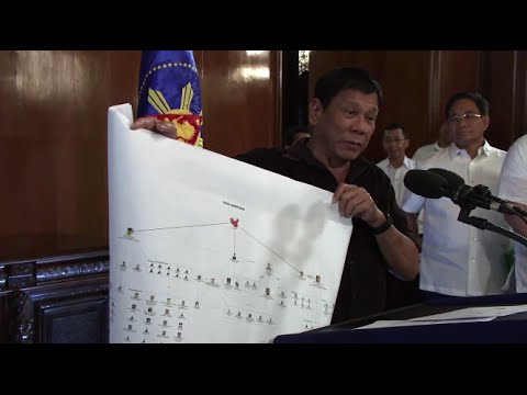 Duterte names top drug lords, links mayors