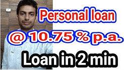 Personal loan @10 75% Cheap Loan - Indialends Personal loan