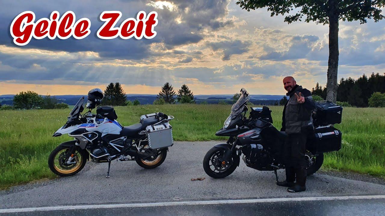 Motorradtour in Thüringen | Sena-Mesh-Vlog mit Olli | Tag 3 | Letzter Teil