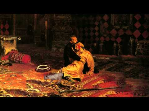 Иван Грозный и сын его Иван - картина