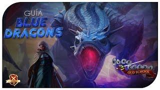 OSRS | Guia de Blue dragon | 300 - 500k/Hora + Safespot - VictorRs07
