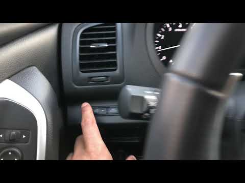 Nissan Altima – How To Brighten And Dim The Instrument Panel Lights