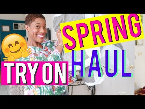 LORD AND TAYLOR STORE CLOSING: 2018 Huge Spring Try On Haul