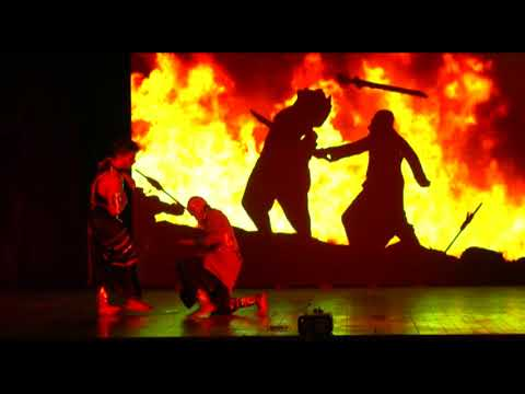 Bahubali theatrical act | dance performance | beatpoppers crew