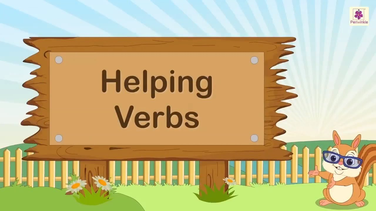 hight resolution of Helping Verbs In English For Kids   English Grammar   Periwinkle - YouTube