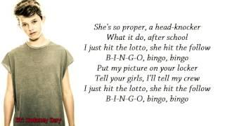 Bingo - Jacob Sartorius Lyrics Full HD
