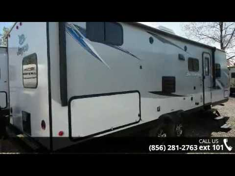 2017 Jayco Jay Feather 25BH Two Bedroom Sofa/Dinette Slid... - YouTube