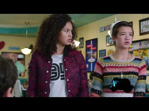 Sneak Peek #4: Jonah and Amber Hugging | Andi Mack | Disney Channel