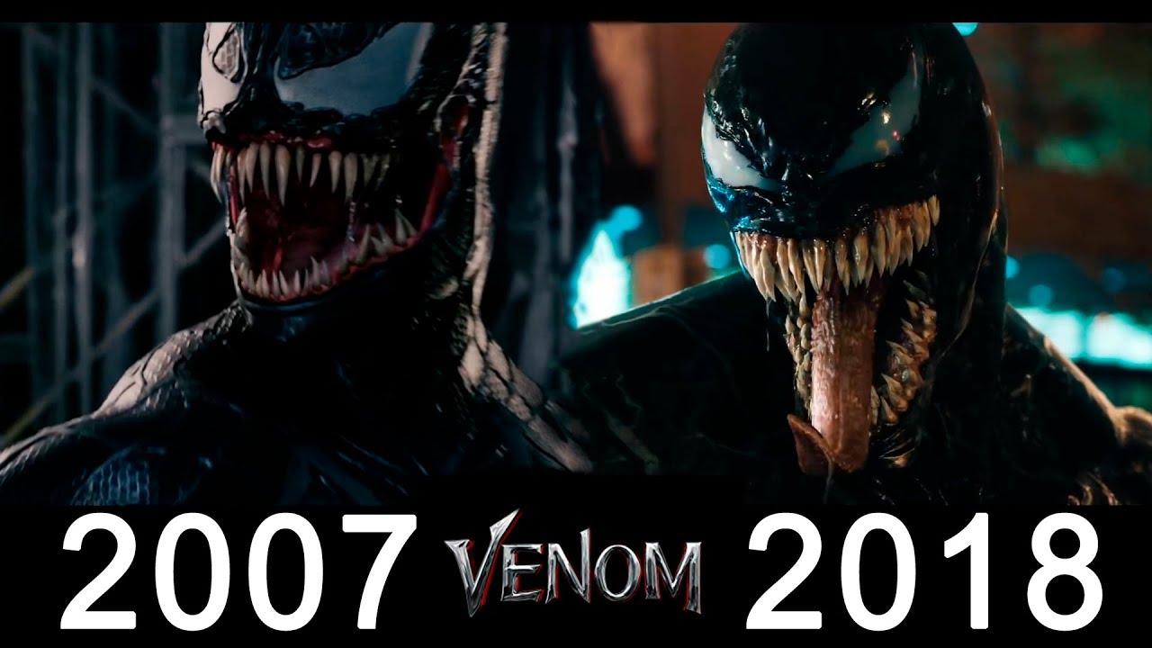Venom 2018 Vs 2007 Somparison Youtube