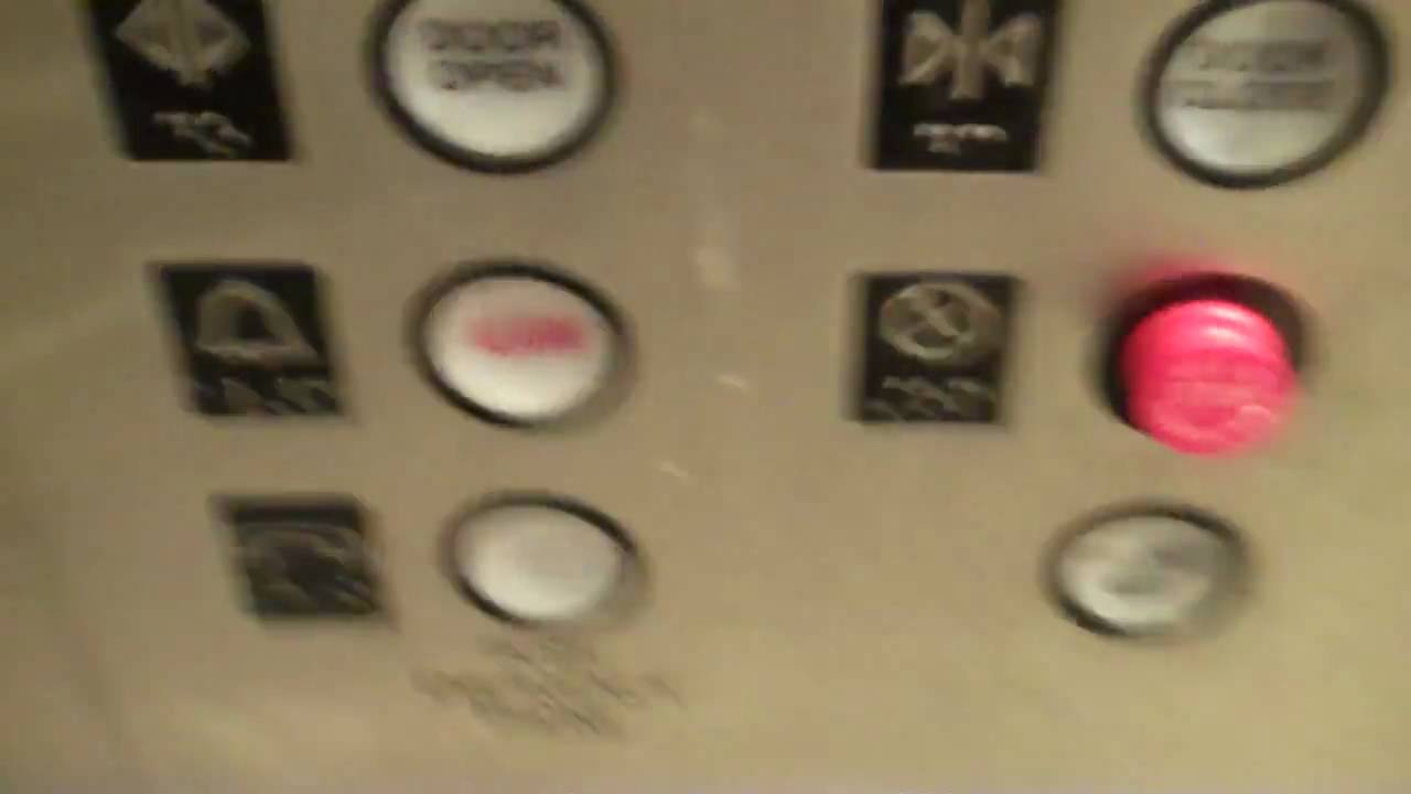 OTIS Elevator and Even Another Door Close at Macy\'s at Roosevelt ...