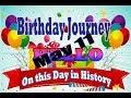 Birthday Journey May 11 New