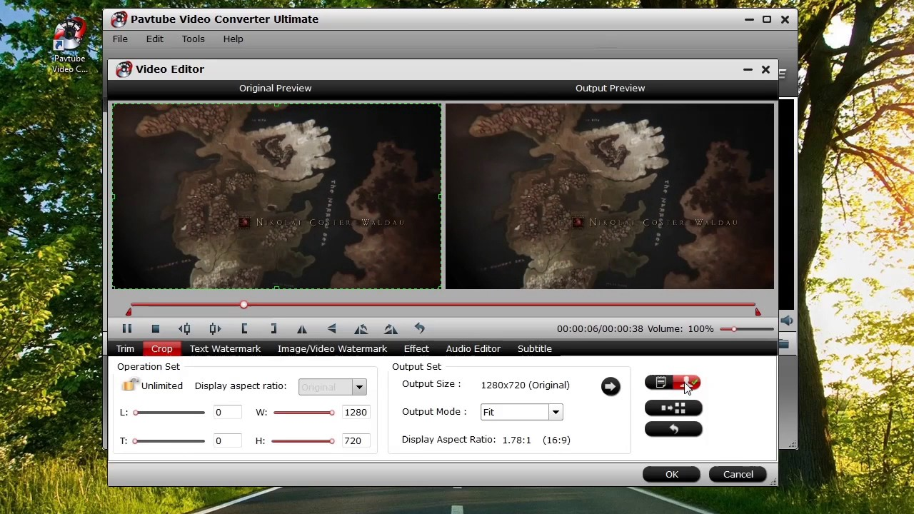 Change Aspect Ratio of mp4 without re encoding