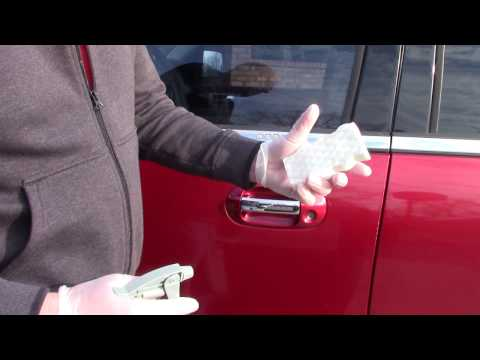 REMOVE SCRATCHES FROM CAR DOOR HANDLE|AUTO DETAILING PLANO TX-MCKINNEY TX-ALLEN TX-FRISCO TX