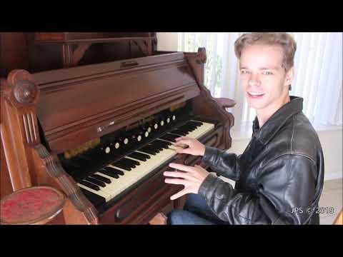 1880's Mason and Hamlin Pump Organ