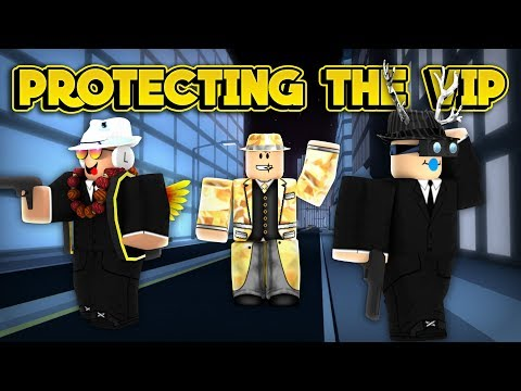 PROTECTING THE VIP! (ROBLOX Jailbreak)