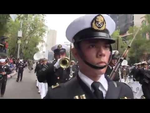 Desfile Militar 2015 (México) - Marina Armada de México