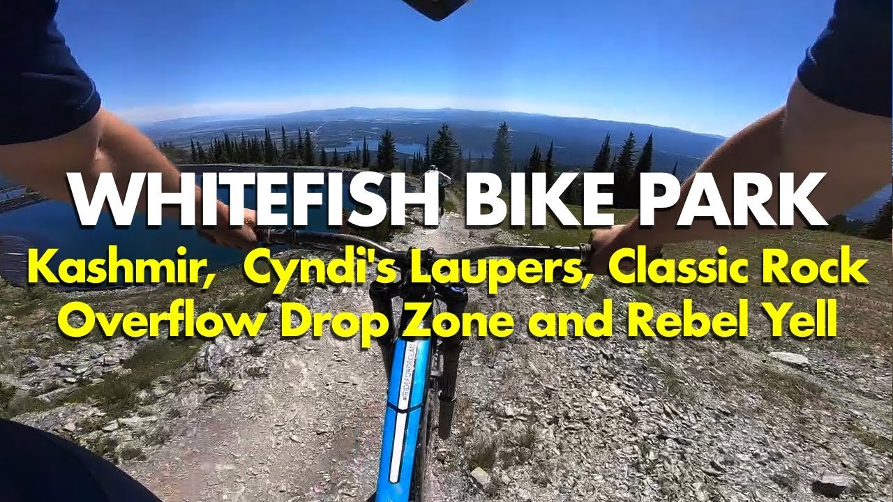 Big Flow Air Tech Mtb Whitefish Bike Park 2018 Kashmir More