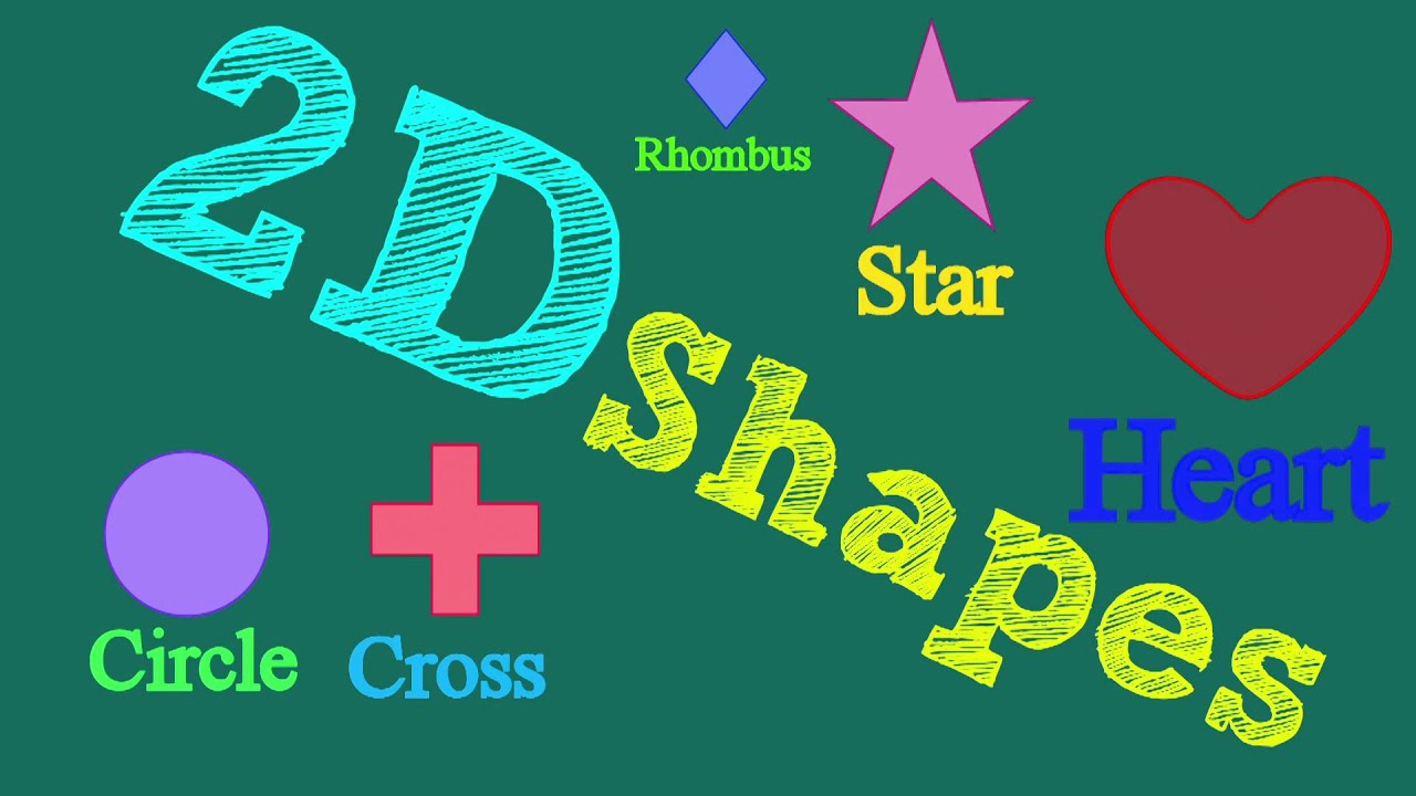 3D Shapes for kids | Shapes Song | 2D Shapes | ABCD For kids |Learn ...