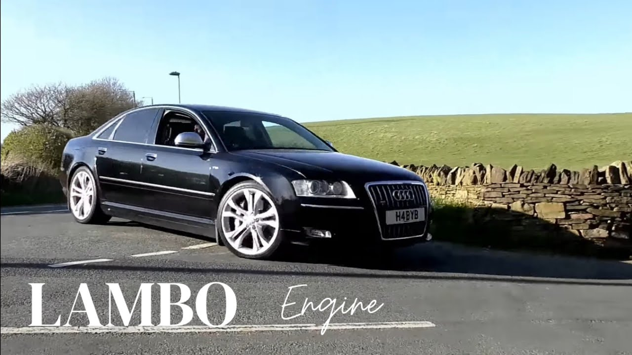 Audi S8 5 2 V10 Lamborghini Engine Youtube