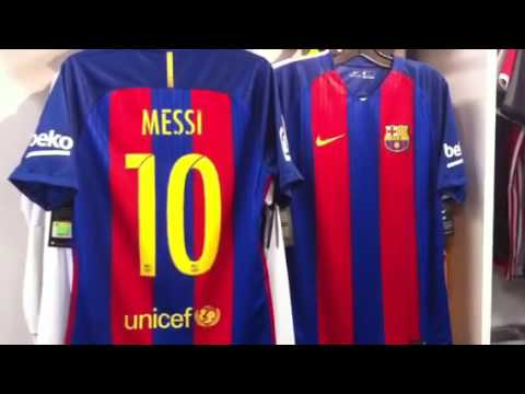 reputable site 82aa9 1db5c Messi Jersey Barcelona 2016 2017 Nike at NAS Vancouver BC 604-299-1721