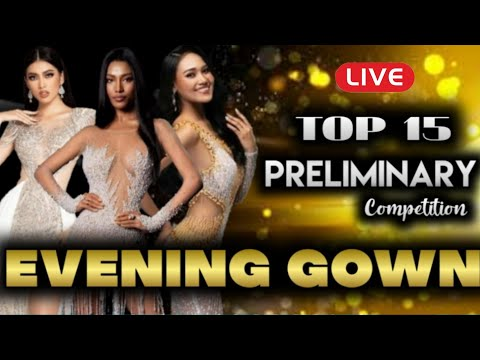 PRELIMINARY COMPETITION - TOP 15 EVENING GOWN MISS GRAND INTERNATIONAL 2020 (KEMUDI)