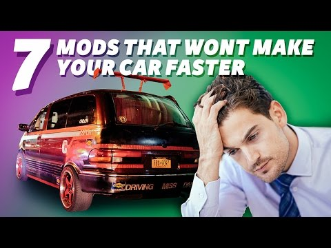7 Mods That Won't Actually Make Your Car Faster