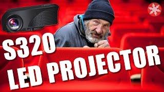 Бомж-кинотеатор. Обзор S320 Led Projector