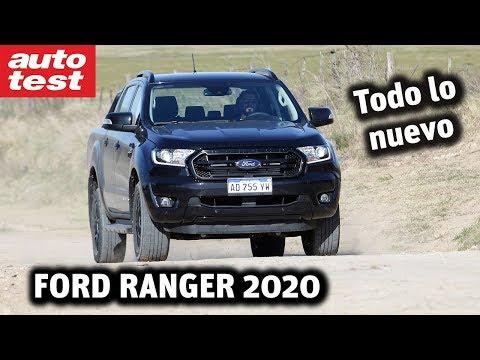 Ford Ranger 2020: Black Edition