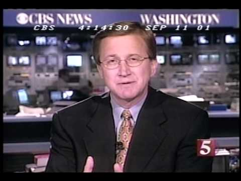 9/11/01 CBS 5 p.m. hour coverage part 2/6