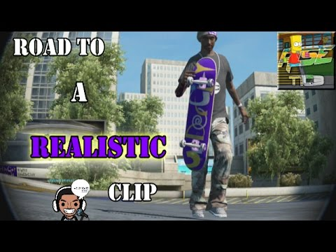 "Skate 3: ""Road To A Realistic Clip"" Ep.  1"