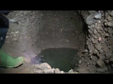 Archaeological Park Foundation Explores Two Newly Discovered Water Channels in Ravne Tunnel