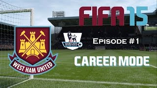 Video FIFA 15: West Ham United - Career Mode - #1: Welcome to East London! download MP3, 3GP, MP4, WEBM, AVI, FLV Desember 2017
