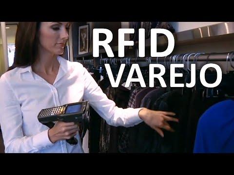 RFID - Lojas inteligentes.
