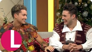 AJ and Curtis Discuss Their Upcoming Tour and Starring in Panto  Lorraine