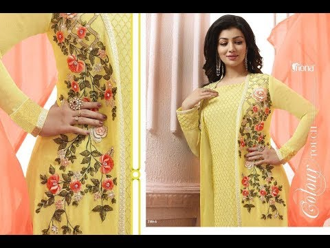 Latest Indian Dresses Collections 2017 || Shree Fashion || FIONA AYESHA TAKIA VOL 10