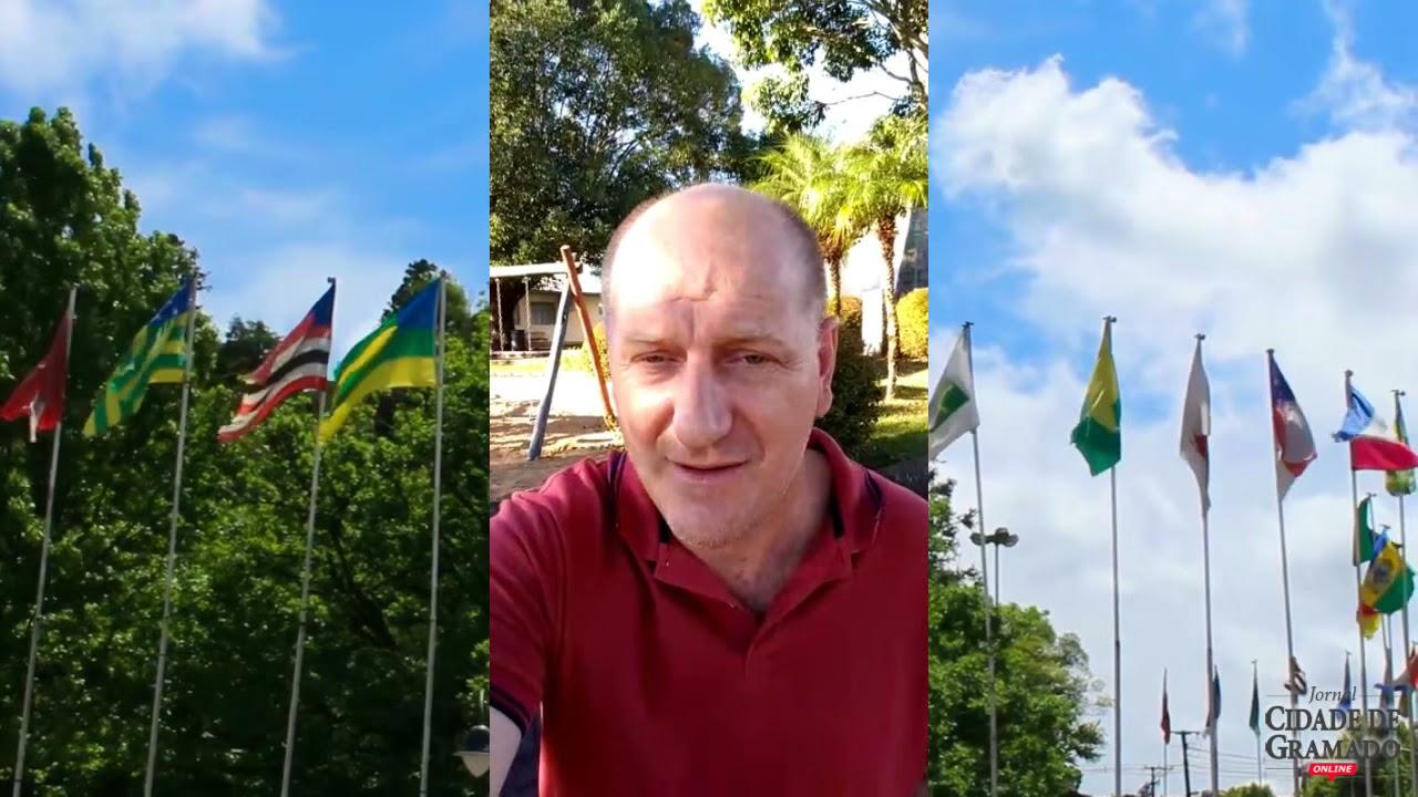 Presidente do legislativo gramadense, professor Daniel deseja sucesso ao Cidade de Gramado Online