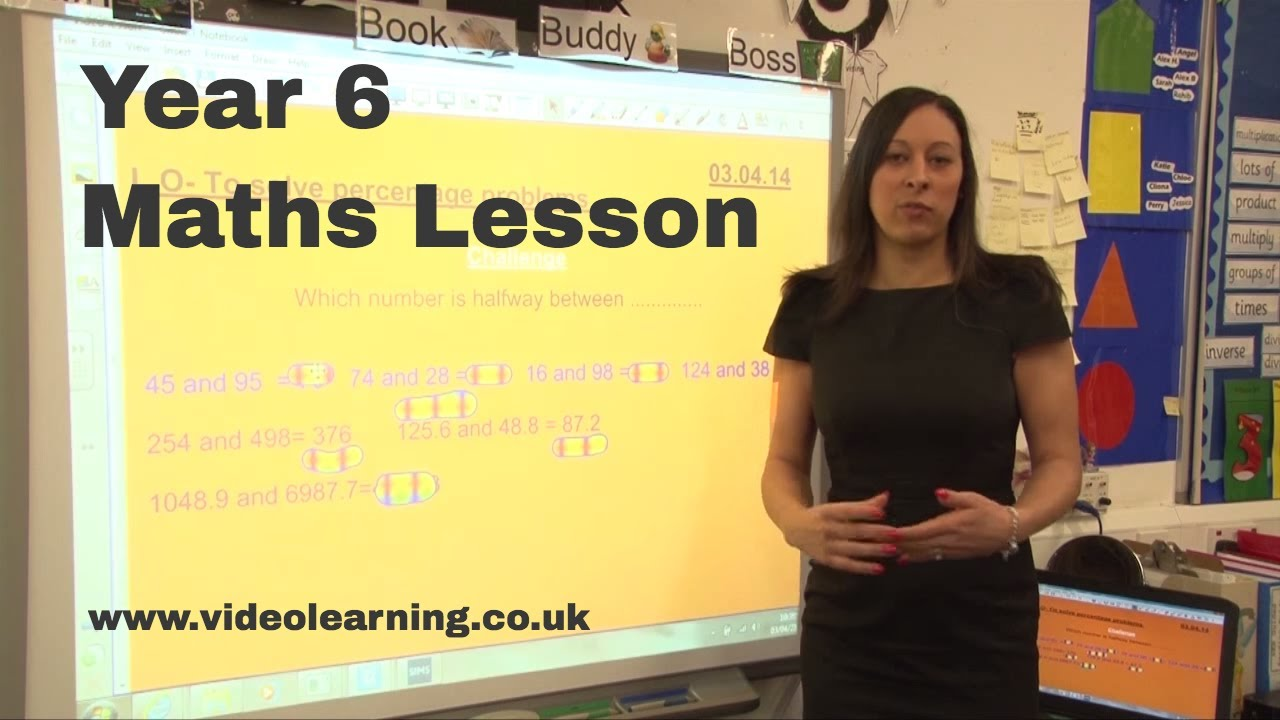 Classroom Ideas Yr 6 ~ Year maths classroom observation topic percentage youtube